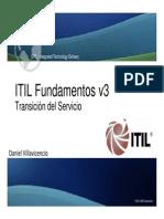 ITIL v3 Foundation Transition Service