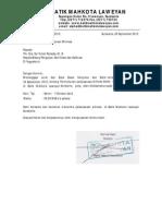 Surat Balasan Witness LSPRO