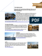 Guided City Tours in the Netherlands