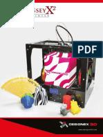 3D Printer Brochure OdysseyX2