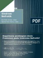 Pr Laporan Kasus Sindroma Nefrotik