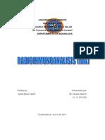 RADIOINMUNOANAOLISIS