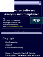 Open Source Software Analysis and Compliance