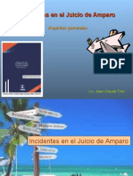 1a Incidentes en el Juicio de Amparo brev.ppt