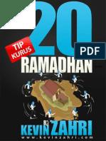 20 Tipskurus Ramadhan Kevinzahri v2