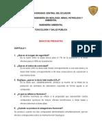 Banco de Preguntas Toxicología