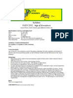 UT Dallas Syllabus for nats2332.002.10s taught by Homer Montgomery (mont)