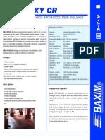 Ficha Tecnica Baxi-Poxy CR