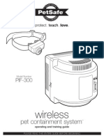 Pif 300 Wireless Containment System Manual