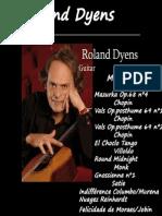 BOOK Mis Arreglos (Roland Dyens)