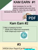 kamearn sleeppresentation
