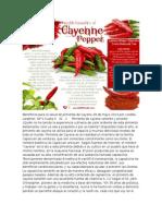 Beneficios Para La Salud de Pimienta de Cayena 28 de Mayo 2013 Por Loretta Lanphier