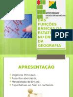 Utilização Das Funções Básicas Da Estatística No Ensino