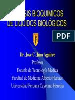 Analisis de Liquidos Biologicos