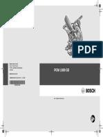 Bosch Compund Mitre Saw PCM 1800 User Manual