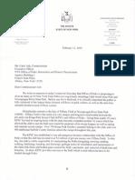 February 12, 2010 Senator Flanagan Moves To Protect Kings Park Soccer Club