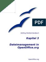 OpenOffice - Handbuch - Kapitel 3