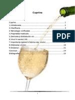 Tehnologia de Obtinere a Vinurilor