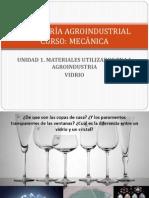 Materiales - Vidrio
