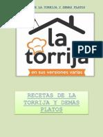 Recetas de La Torrija y Demas Platos