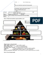 Vocab Exercise (Food Pyramid)