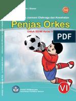 Buku Penjaskes kelas 6 SD