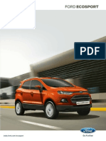 ford Ecosport Brochure