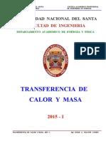 Transf. Calor y Masa - Unidad - II - Sesion Nº 1