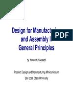 DFMA I Design for Manufacturing & Assembly