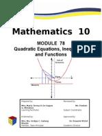 k-12  math  10  m1  quad  fxns
