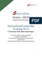 SInnovation Invitation Letter ILT Programme
