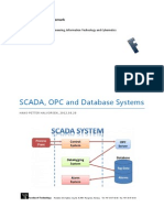 SCADA, OPC and Database Systems