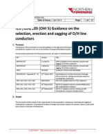 Guidance on the Selection Erection and Sagging of OH Line Conductors