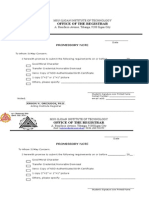 Form 4, Promissory Note