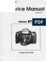 Pentax67II Service Manual