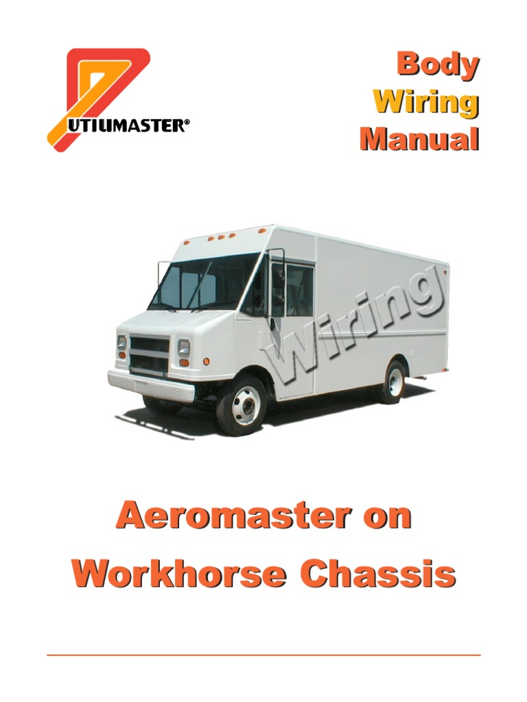 Workhorse Aeromaster Wiring National Highway Traffic Safety 8 Diagram Administration Vehicles