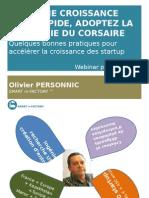 Pour une croissance plus rapide de votre startup, adoptez la stratégie du Corsaire !