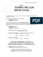 Estructura y Función Del Cuerpo Humano - Anatomia de Los Musculos