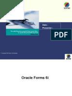 Training - Forms 6i