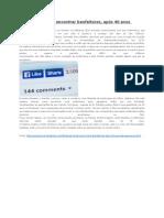 Facebook Ajuda a Encontrar Benfeitores Apos 40 Anos de Separacao