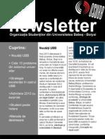 Newsletter OSUBB Nr 5 Din 2009-2010