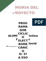 Memoria de Proyecto Bote Programador