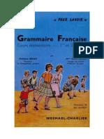 129662350 Langue Francaise Grammaire Francaise CE1 CE2 Pour Savoir Beney 1962