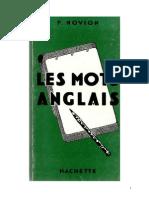 102765135 Langues Anglais Hachette Les Mots Anglais 20 000 Mots F Novion