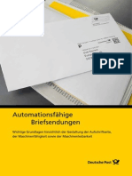 Dp Automationsfaehige Briefsendungen 2013
