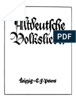 Arndt - Altdeutsche Volkslieder