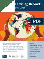 Katherine Twining Network - Newsletter Spring 2015