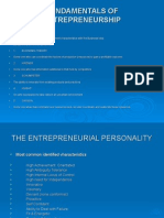 Success Entrepreneur Factor