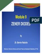 ECE101 Modules 9 Zener Diodes