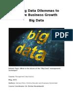 Draft Paper Big Data